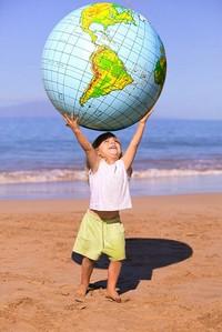 child_globe